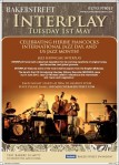 Interplay flyer for gig at Baker Street Swindon on 1st May 2012