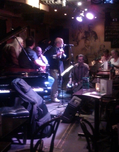 Interplay's Dave Balen at the 606 Club with Peter Ind